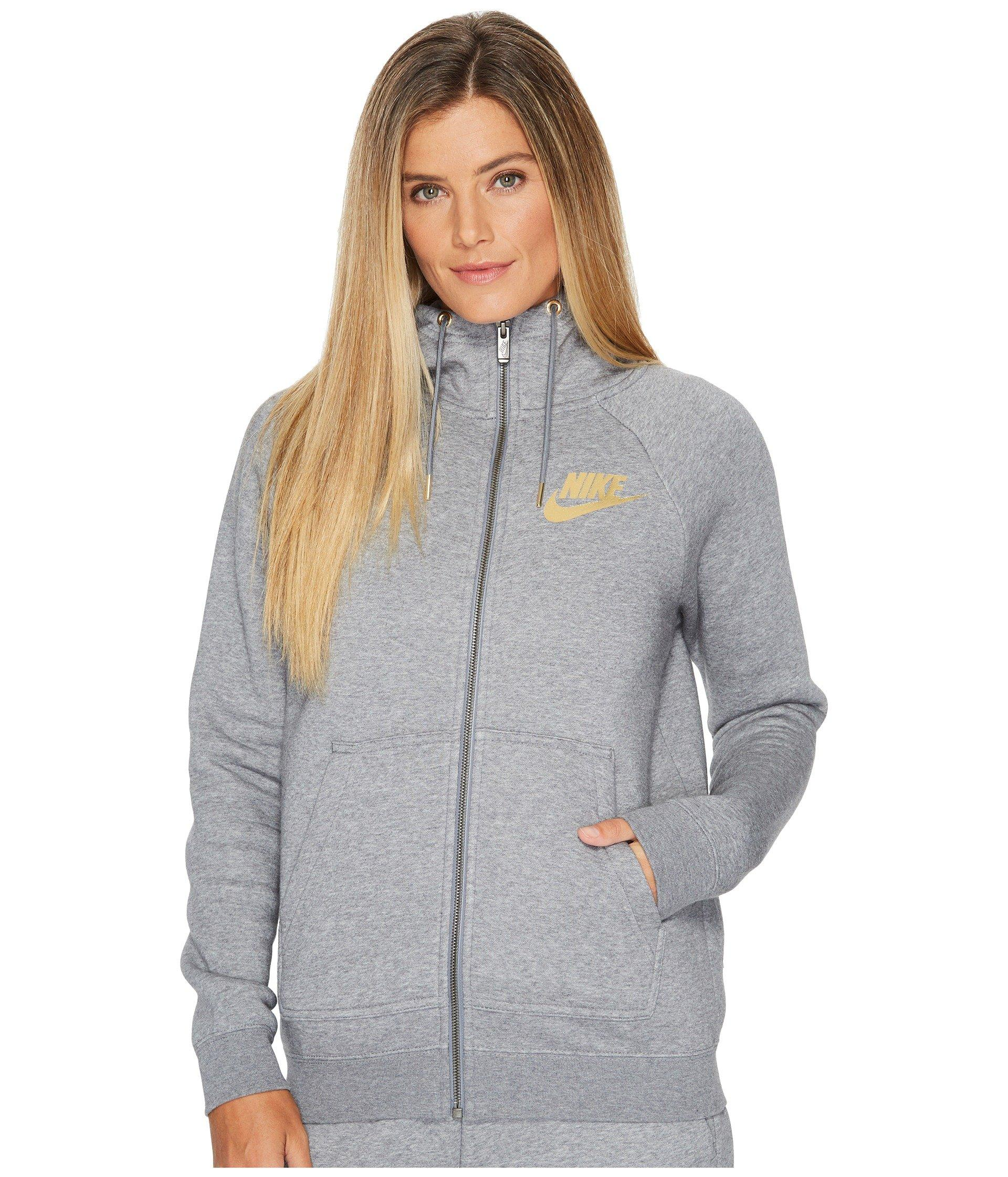 3e51415d4a6f Nike Sportswear Rally Metallic Full-Zip Hoodie