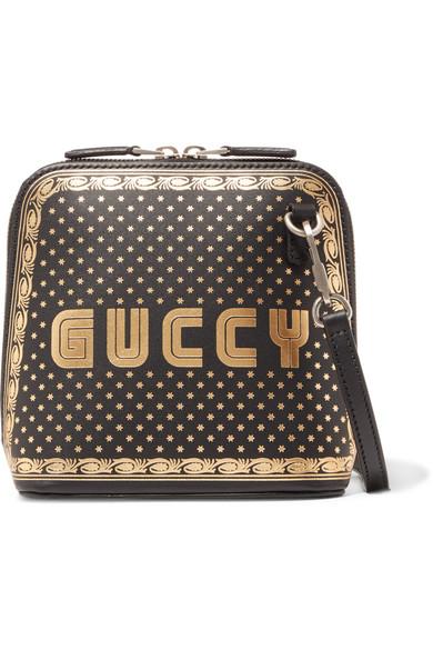 fcfd29d7c5b Gucci Guccy Mini Printed Leather Shoulder Bag In Female