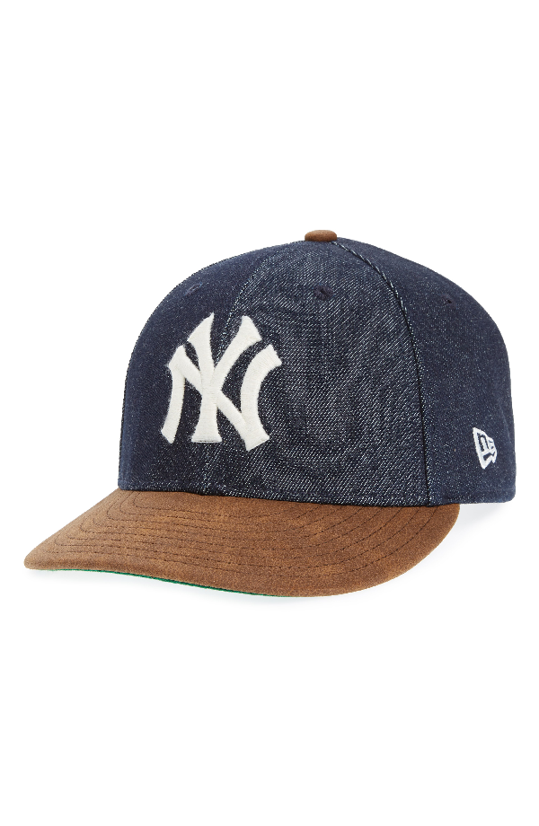 New Era X Levi's Mlb Logo Ball Cap - Black In New York Yankees