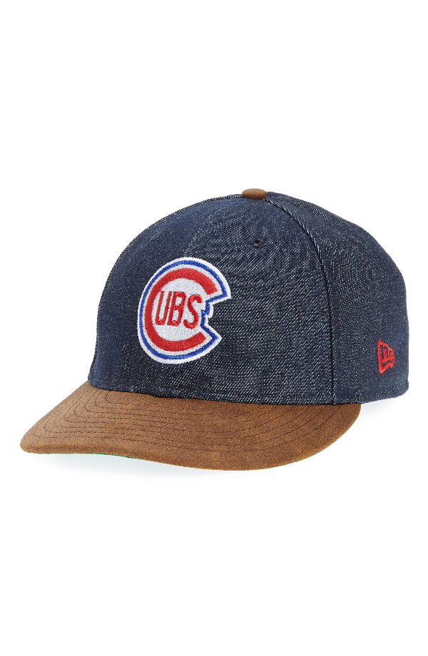hot sale online eabca 1e827 New Era X Levi s Mlb Logo Ball Cap - Black In Chicago Cubs