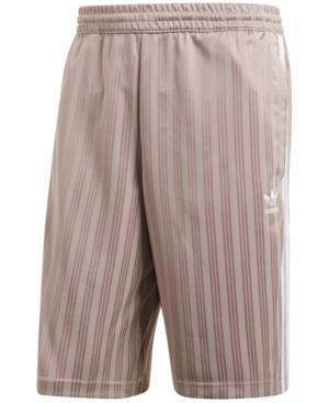 Adidas Originals Adidas Men's Originals Jacquard Soccer Shorts In Vapour Grey