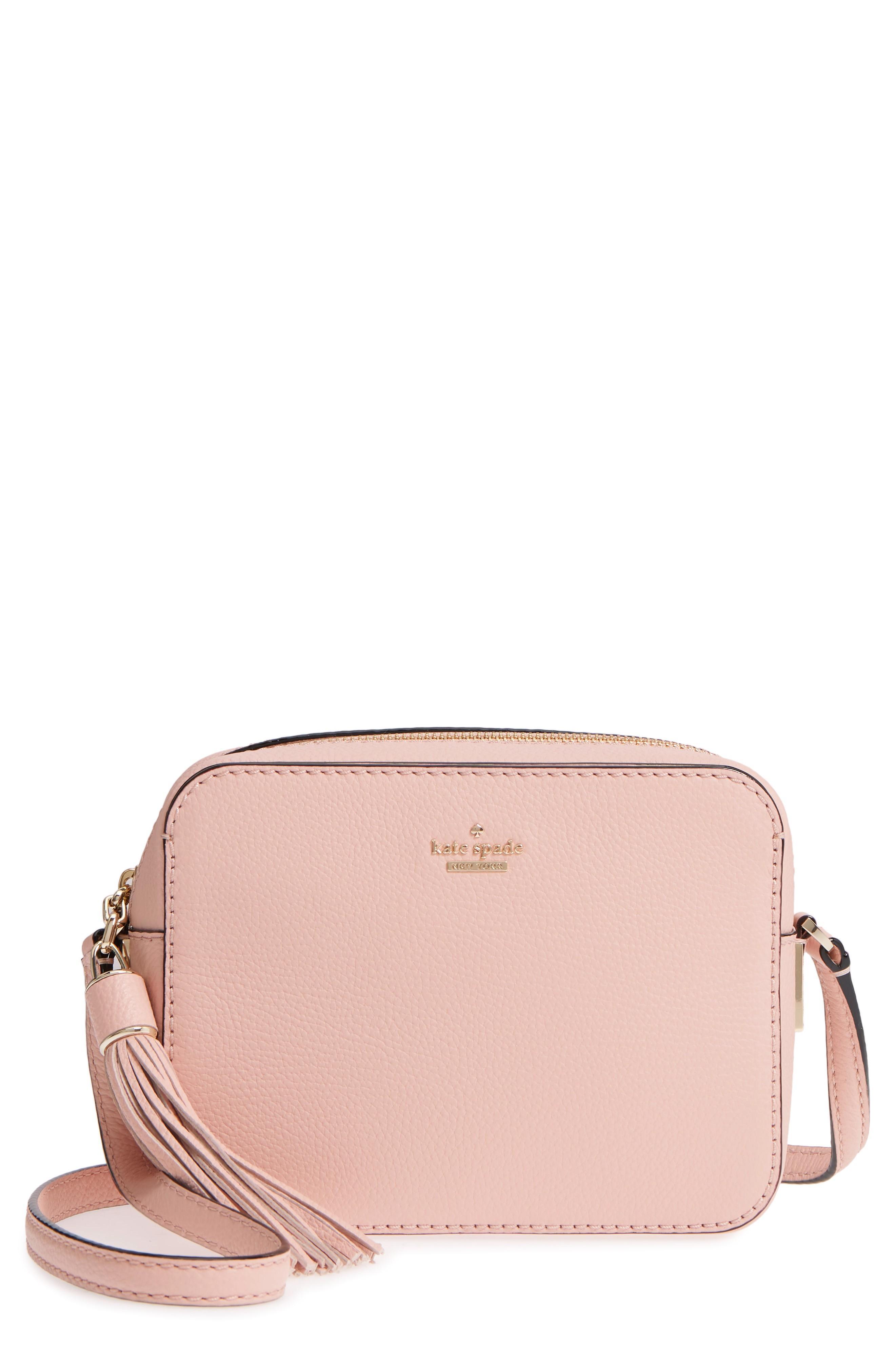 512c66cbab63 Style Name  Kate Spade New York Kingston Drive - Arla Leather Crossbody Bag.