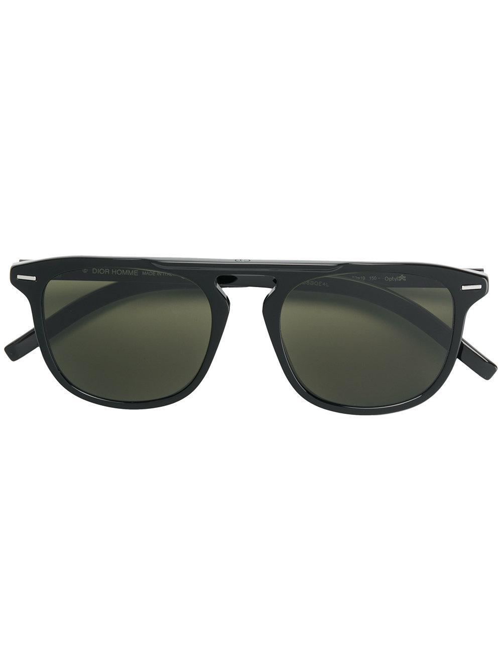 ac15b7c61160 Dior Eyewear Square Frame Sunglasses - Black