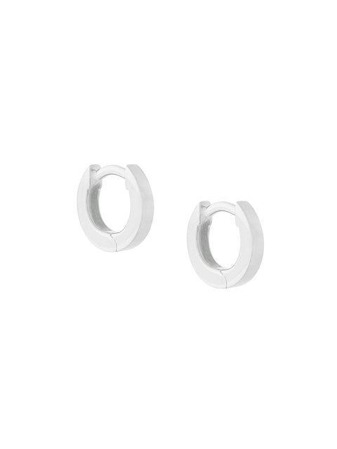 Astley Clarke Mini Stilla Hoop Earrings In Metallic