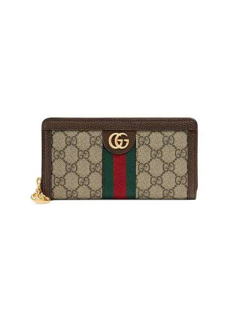 ba827f423ee98a Gucci Ophidia Gg Supreme Canvas Wallet In Neutrals | ModeSens