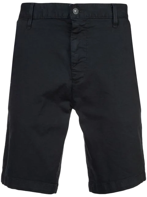 7 For All Mankind Men's Stretch Chino Shorts In Deep Sea