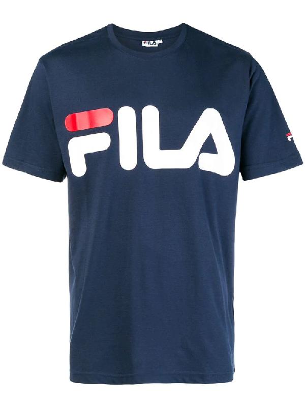 bf1083a9e5 Fila Men's Logo T-Shirt, Blue | ModeSens