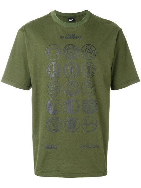 Ktz Scout Print Tee - Green