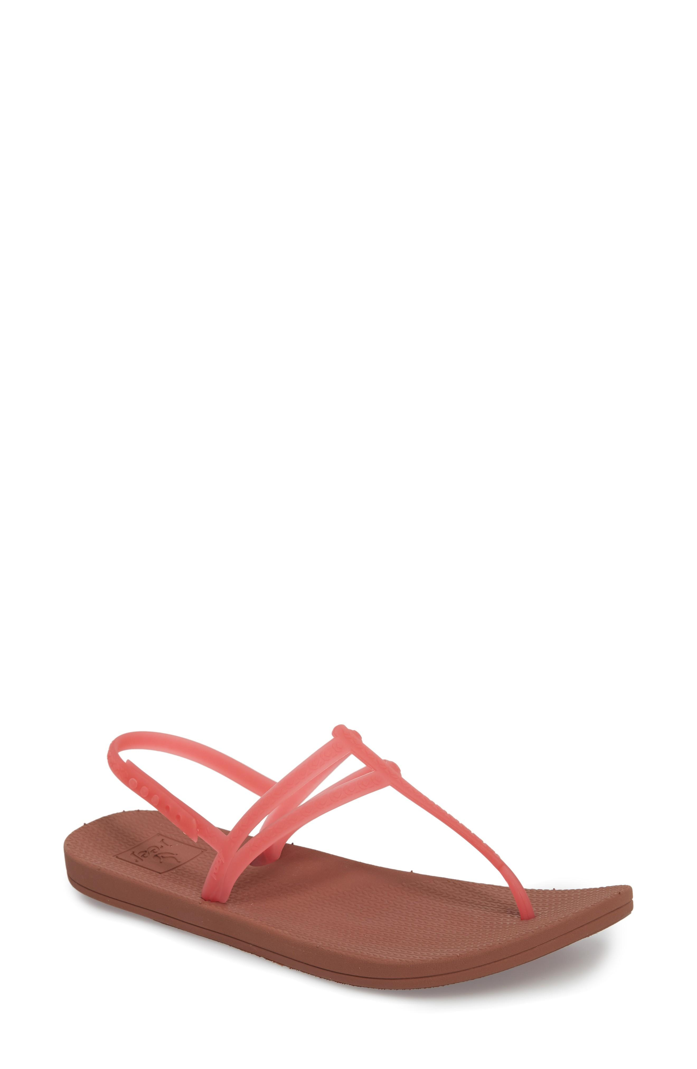 43e08a8f95ef Reef Escape Lux T-Strap Sandal In Hot Pink