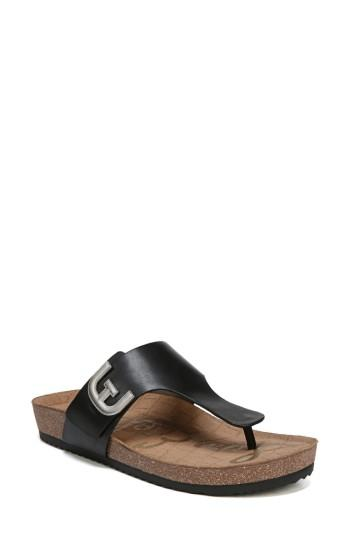 b0372436018d Gleaming hardware updates the T-strap of a classic sandal crafted with a  contoured footbed and flexible sole. Style Name  Sam Edelman Olga Sandal  (Women).