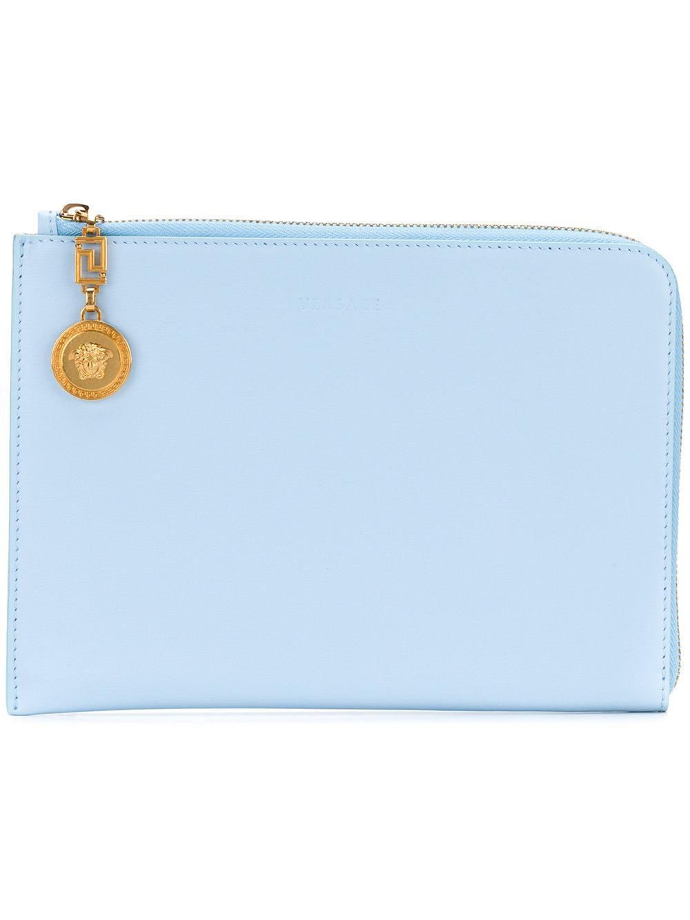 736f4336 Medusa Lock Clutch Bag