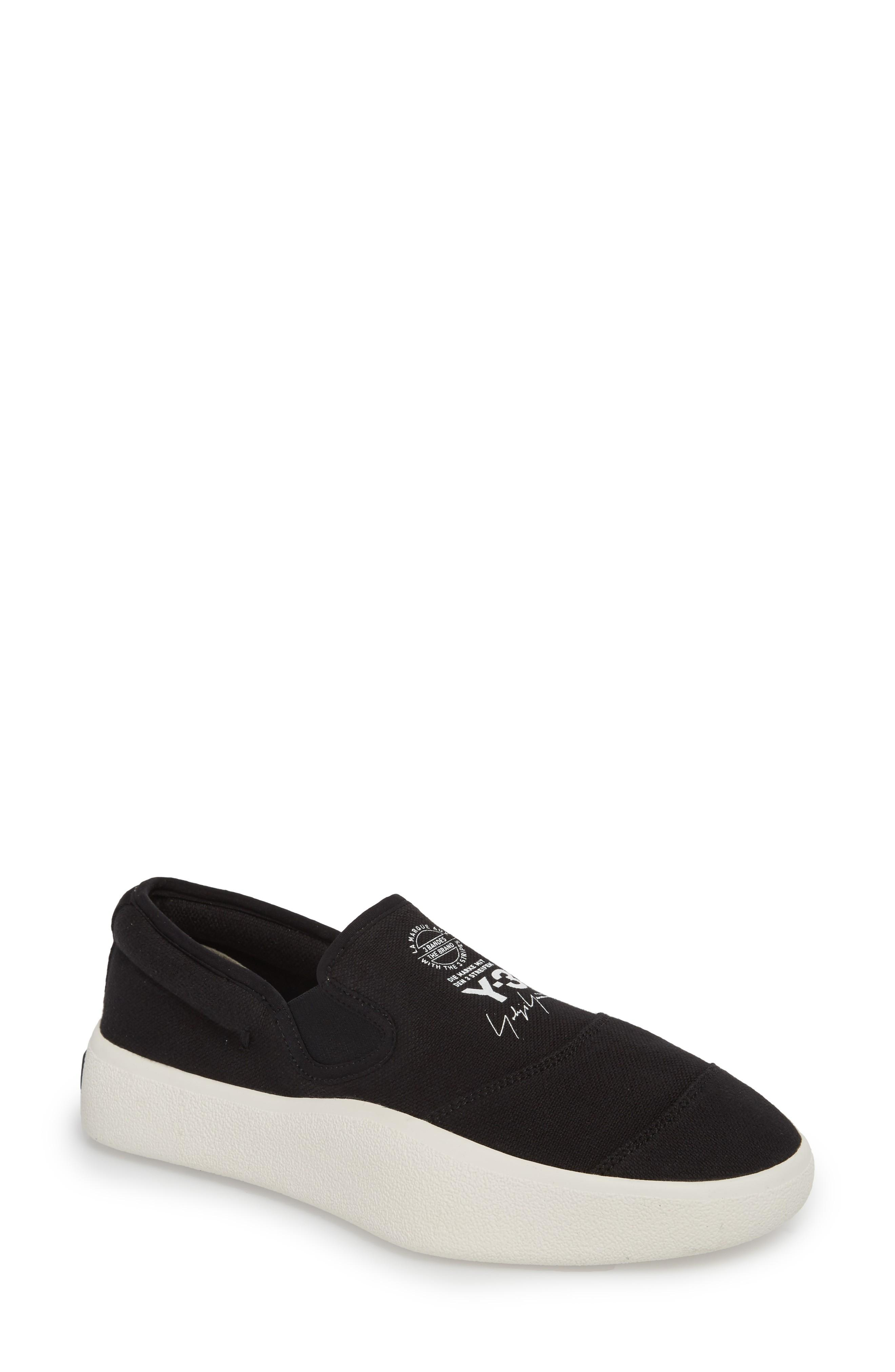 4ae088577 Y-3 Tangutsu Slip-On Sneaker In Black   White   Core White