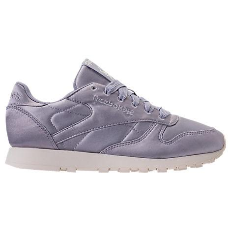 9532d9f9b4041 Reebok Women s Classic Leather Satin Casual Shoes