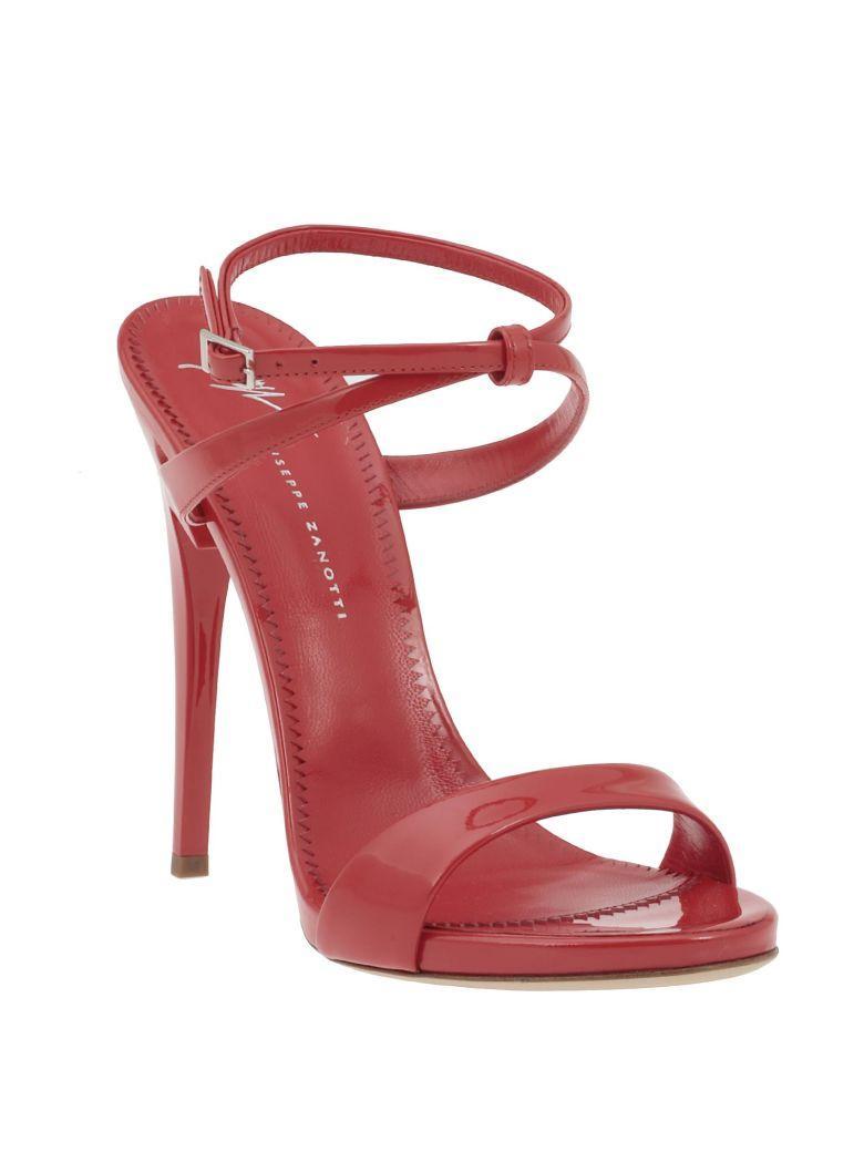 Giuseppe Zanotti G Heel Sandal In Gloss