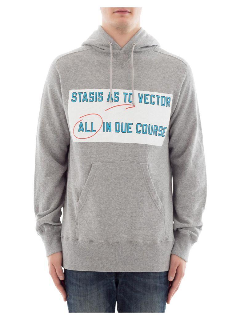 Sacai Grey Cotton Sweater