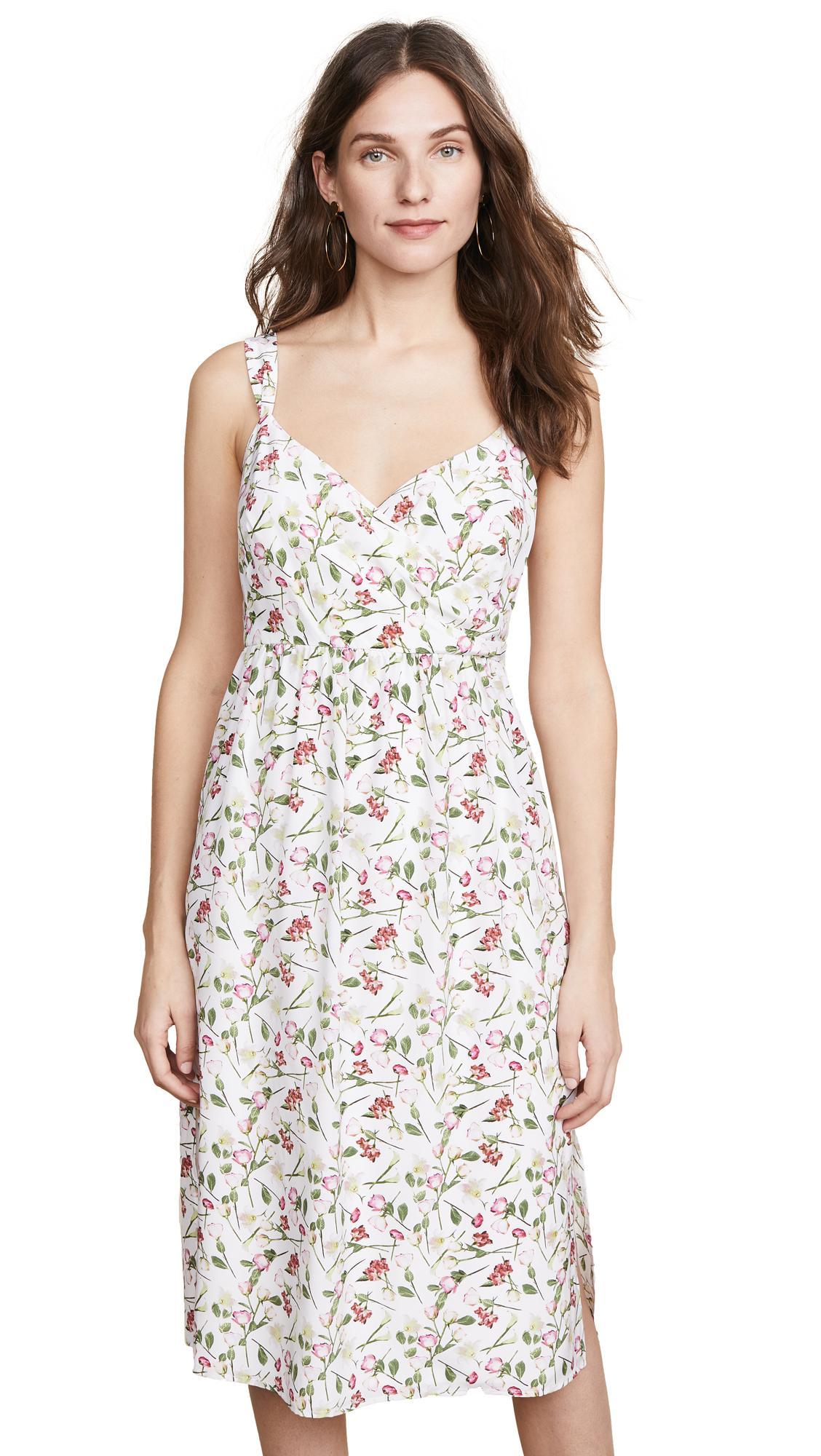 d89b7de7f660 Club Monaco Germaine Dress In White Multi   ModeSens