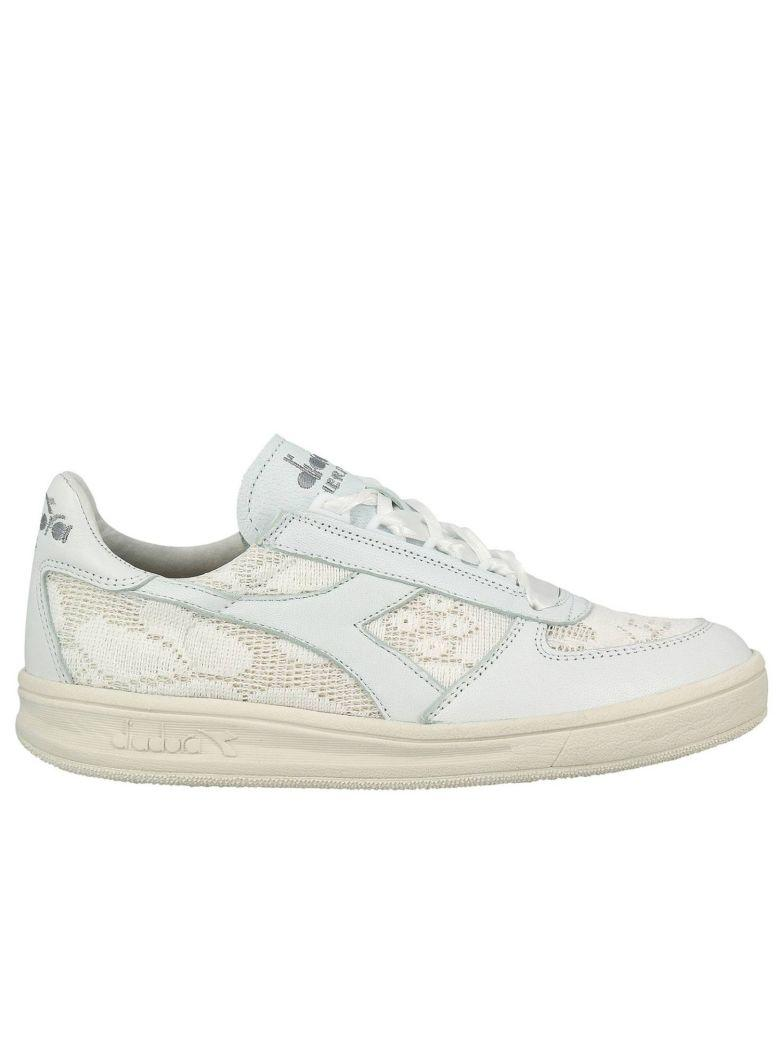 9ee80481 Sneakers Shoes Women Diadora Heritage in White