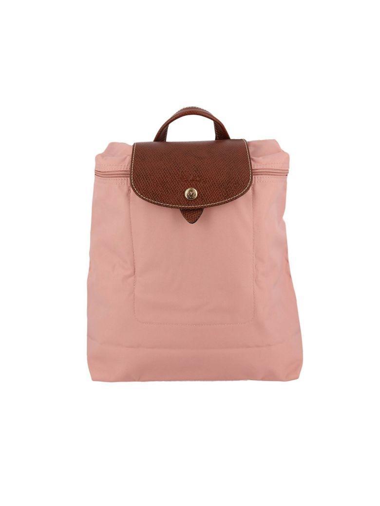 Longchamp Backpack Shoulder Bag Women  In Pink