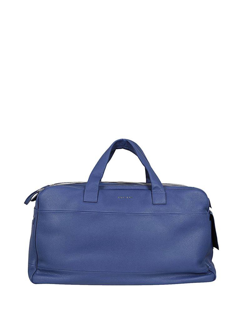 Orciani Logo Holdall In Blue