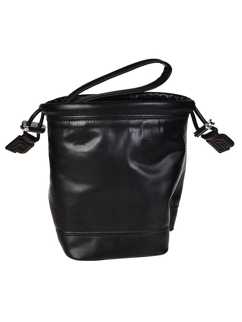 Paco Rabanne Bucket Shoulder Bag In Black