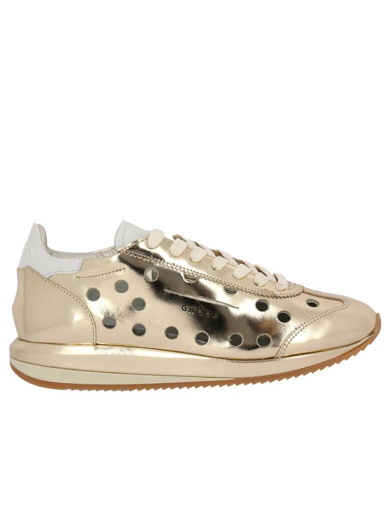 Ghoud Sneakers Shoes Women  In Gold