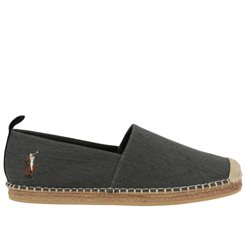 Polo Ralph Lauren Shoes Shoes Men  In Black