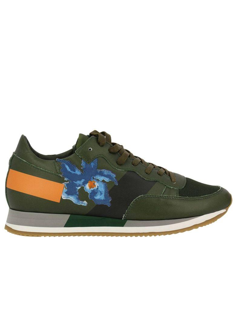 Philippe Model Sneakers Shoes Men  In Military