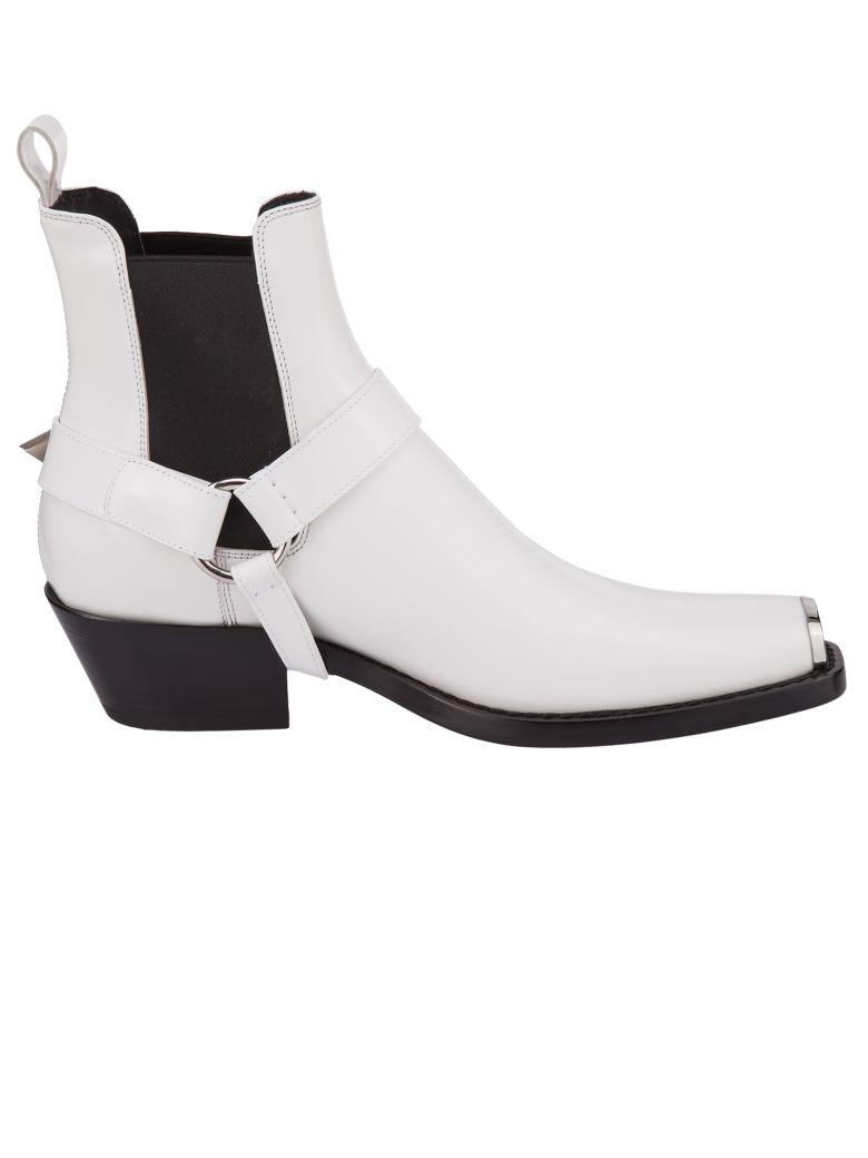 Calvin Klein 205w39nyc Boots In Bianco