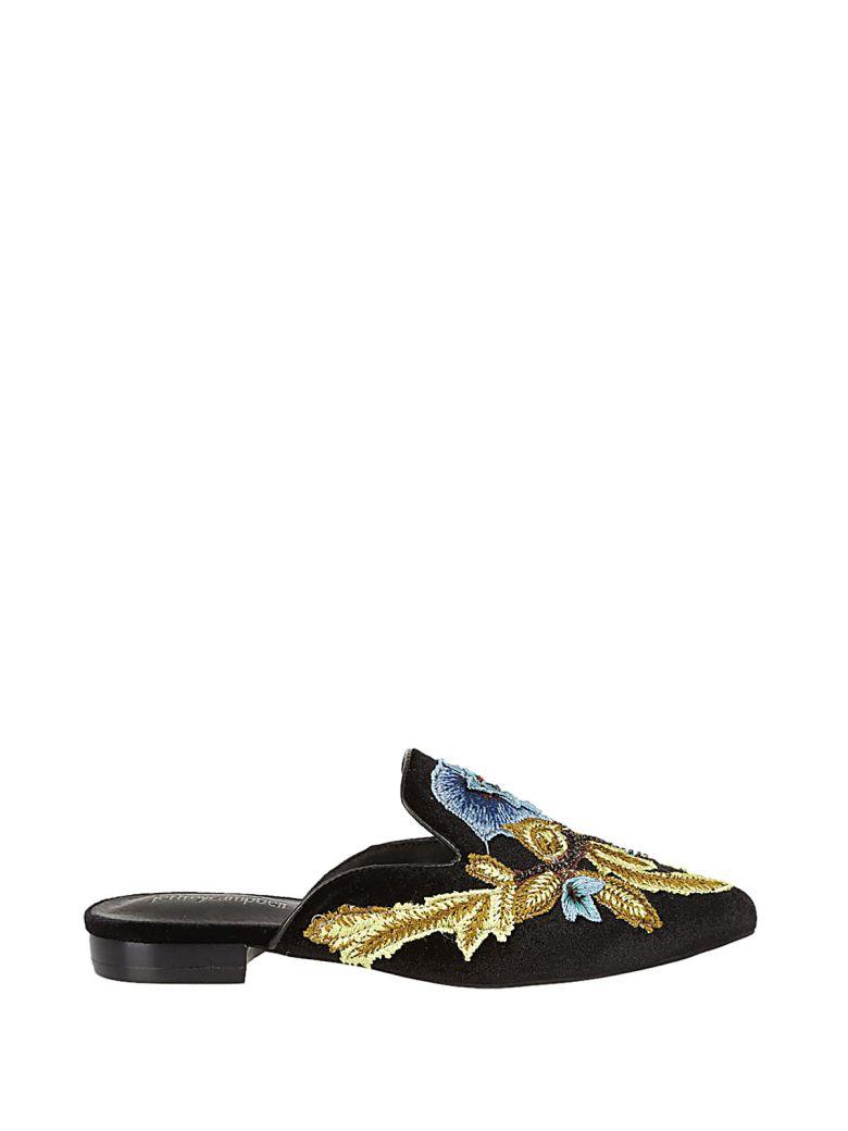 Jeffrey Campbell Claes Mules In Black