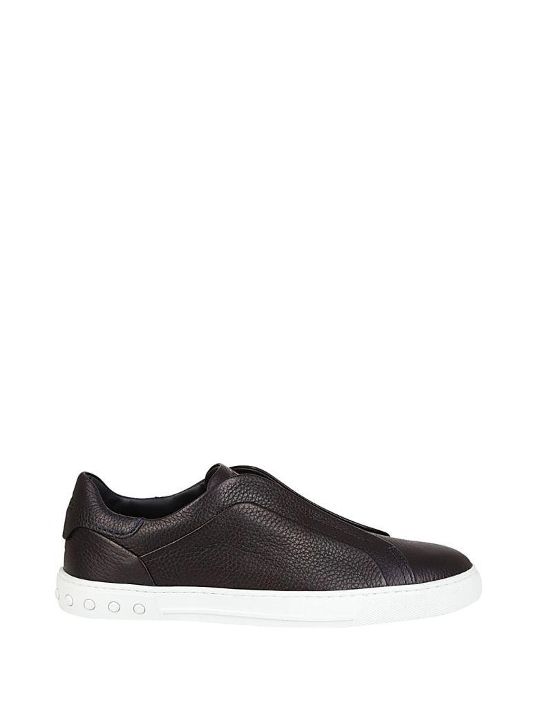 Tod's Classic Slip On Sneakers In Blue