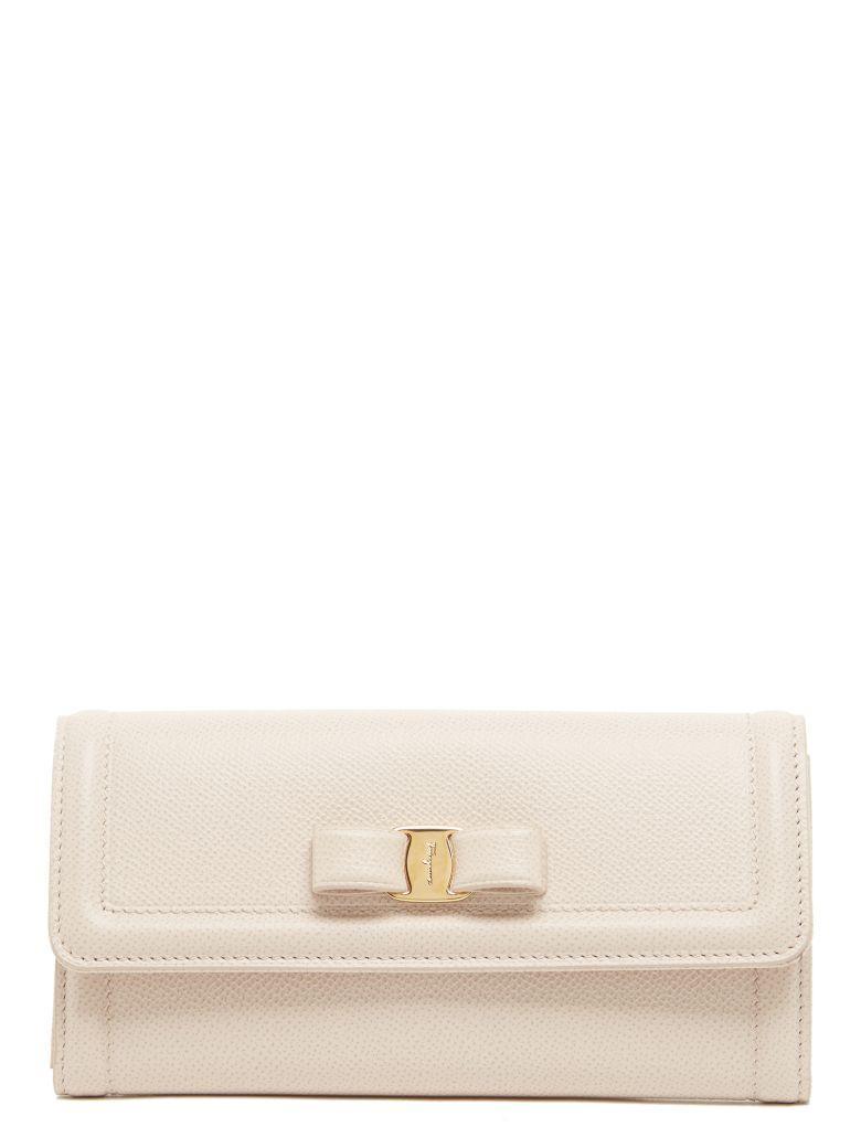 Salvatore Ferragamo Wallet In White