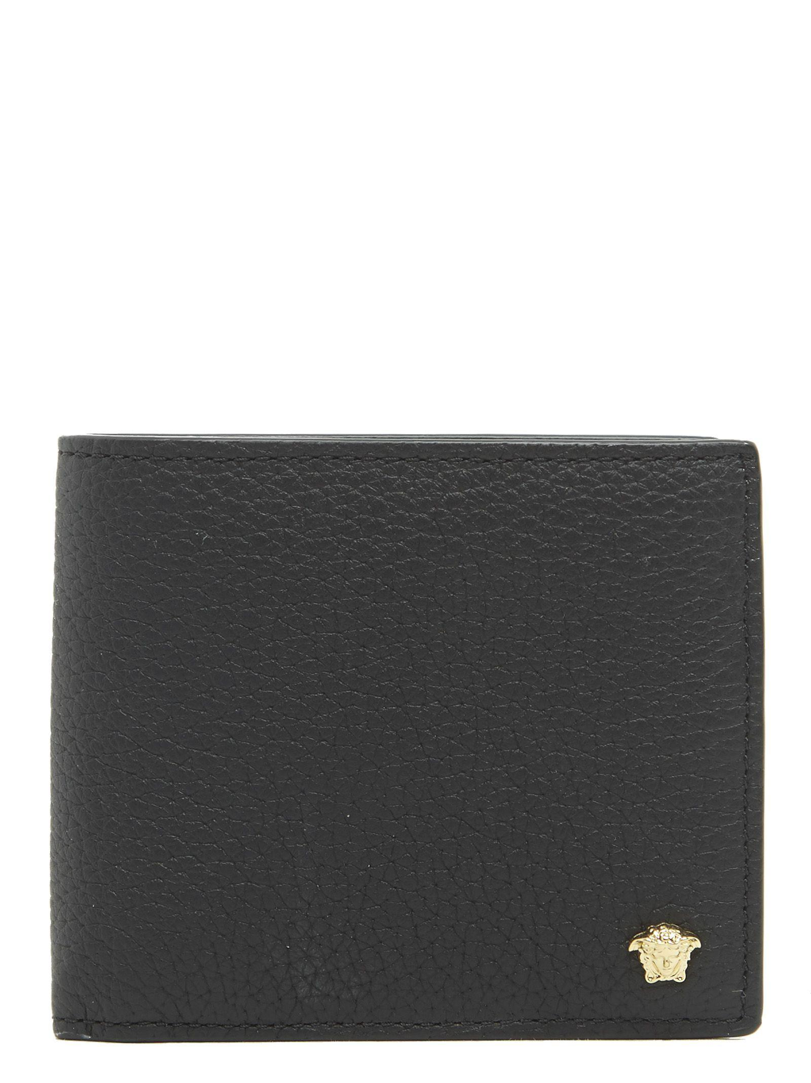Versace Wallet In Black