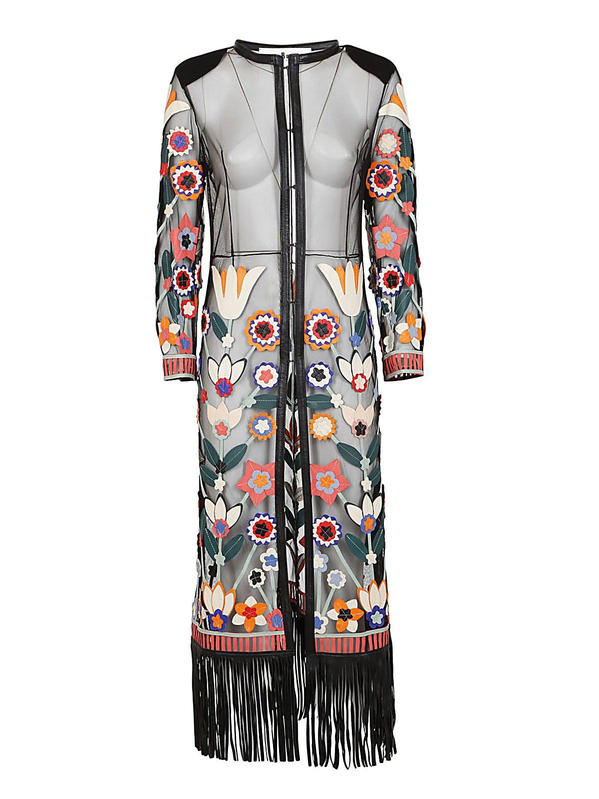 Caban Romantic St Tropez Kimono In Black