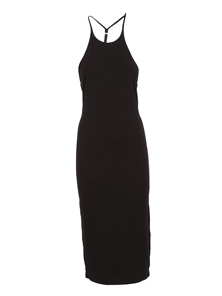 Alexander Wang T T By Alexander Wang Slim-fit Dress In Black