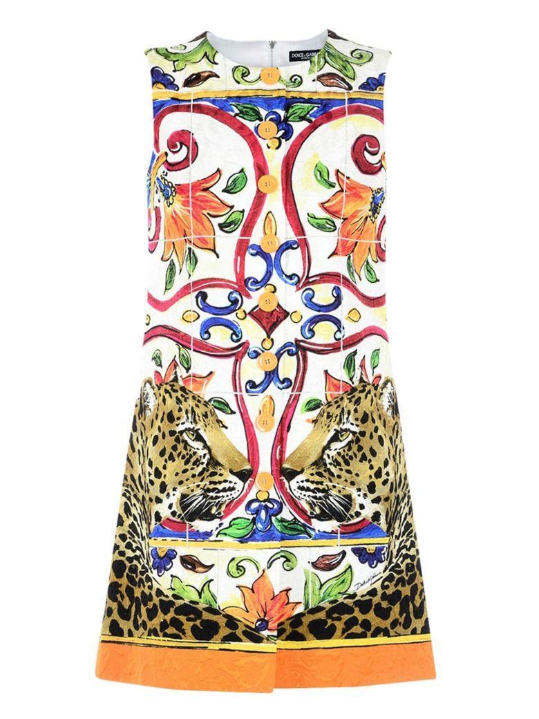 Dolce & Gabbana Dolce E Gabbana Dress In Multicolor