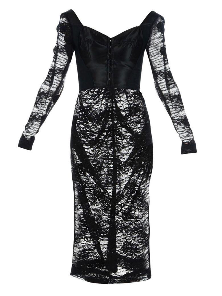 Dolce & Gabbana Dolce E Gabbana Dress In Black