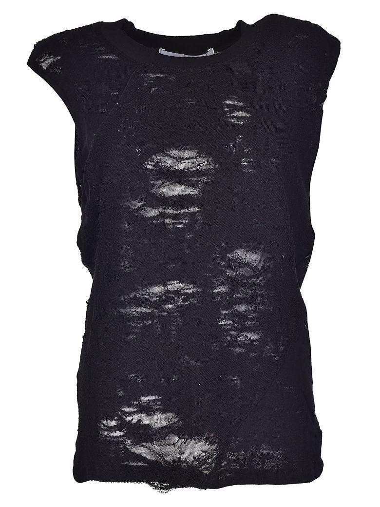 Iro Sleeveless Top In Black