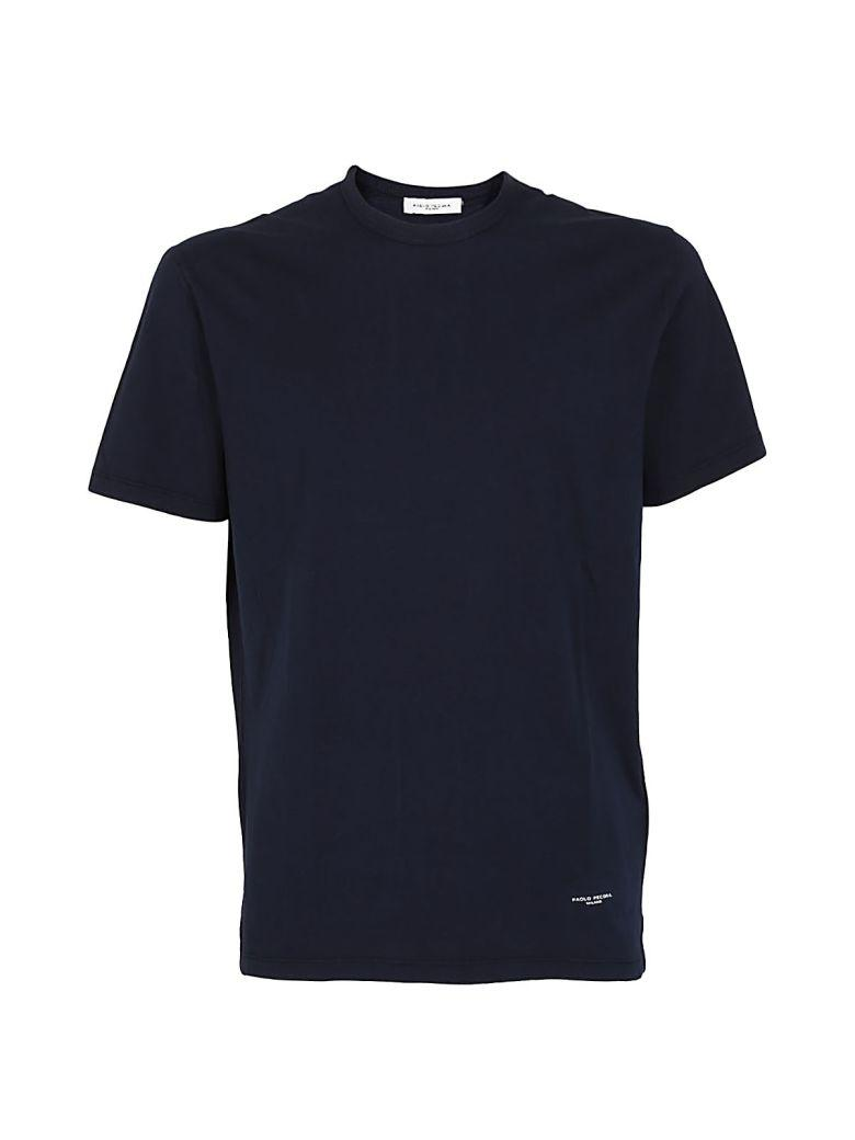 Paolo Pecora Classic T-shirt In Blue