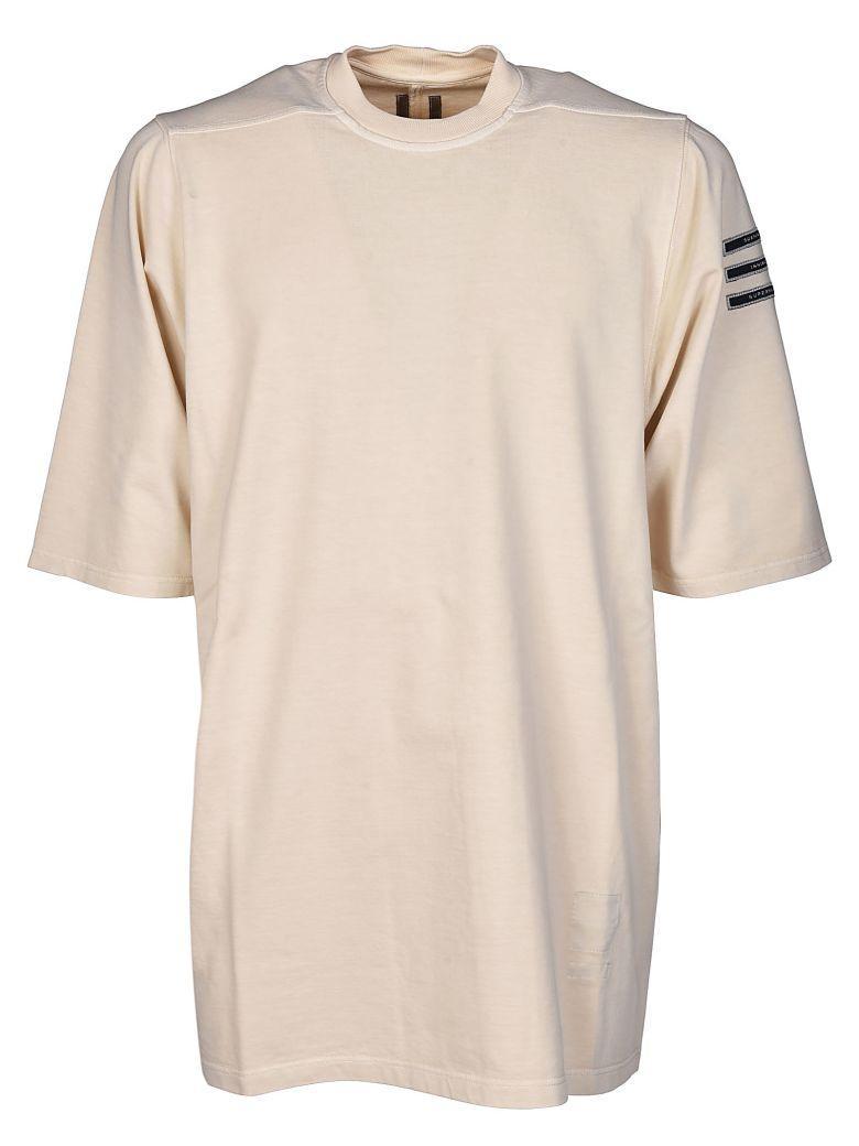 Drkshdw Rick Owens  Jumbo T-shirt In Naturale