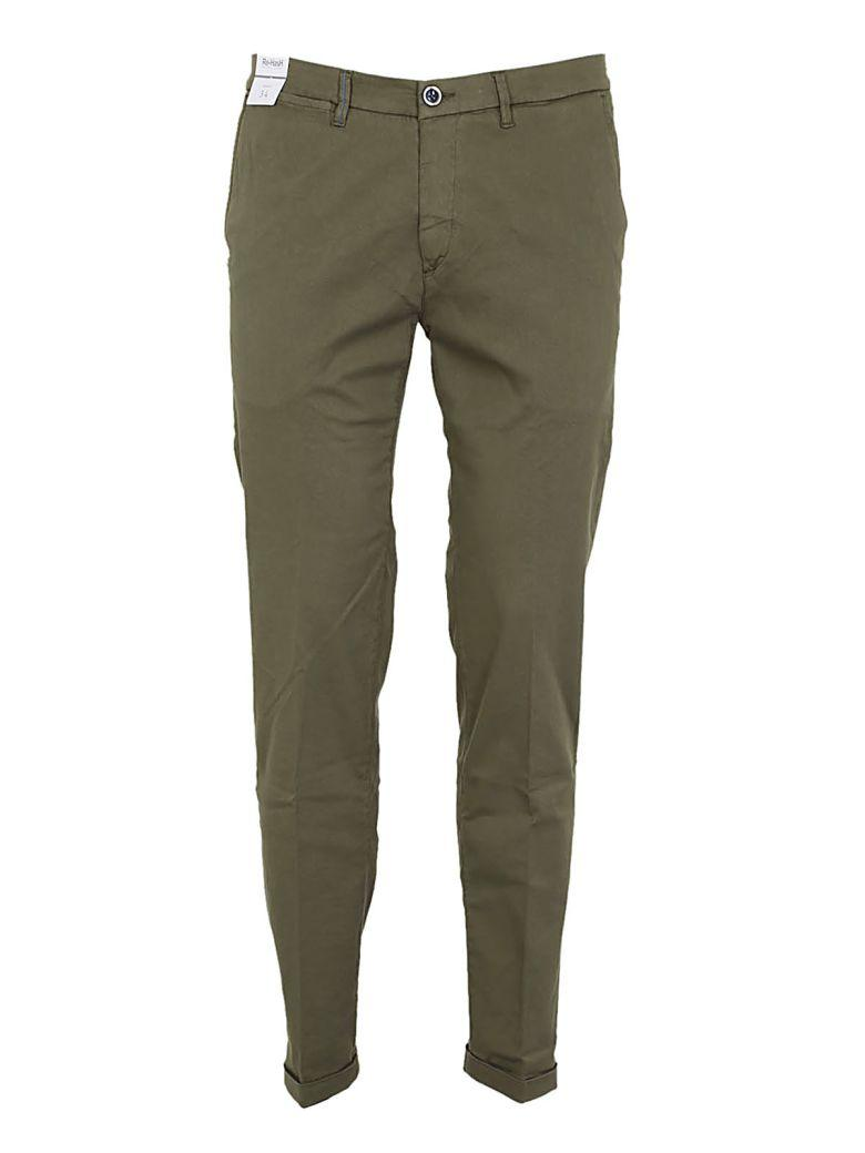Re-hash Classic Trousers In Verde Militare