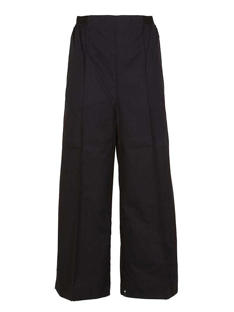 Sportmax Lace Detail Trousers In Black