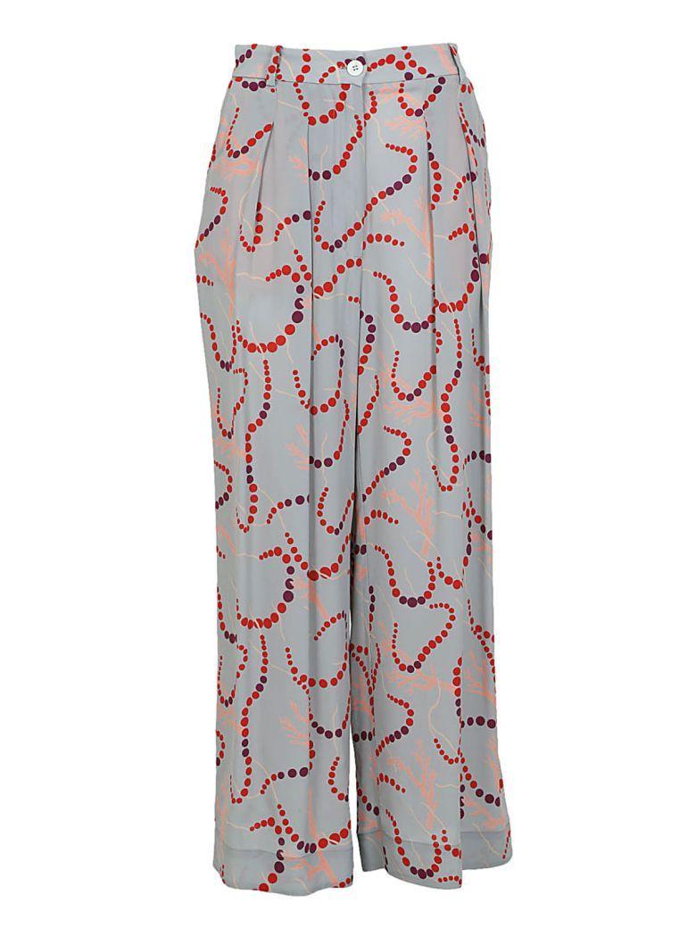 Erika Cavallini Printed Trousers In Pennicillina