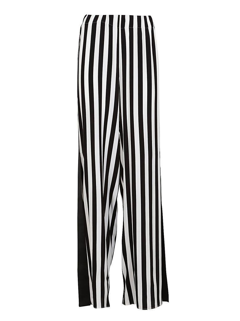 Federica Tosi Stripe Trousers In Bianco/nero