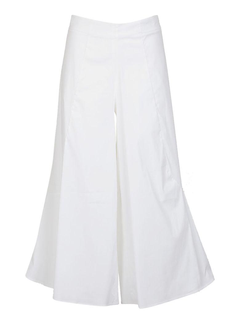 Federica Tosi Flared Trousers In White