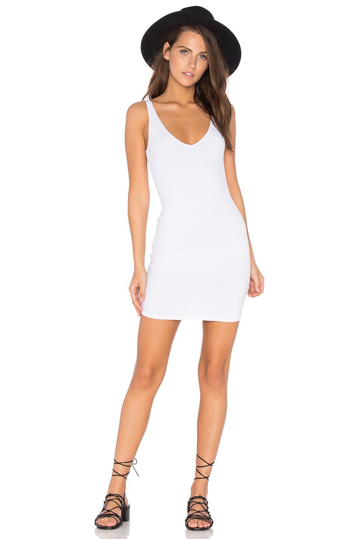 Lisakai Tank Dress In White