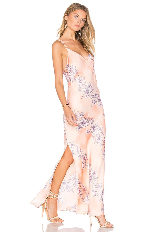 Free People Cassie Girl Slip Dress In Pink