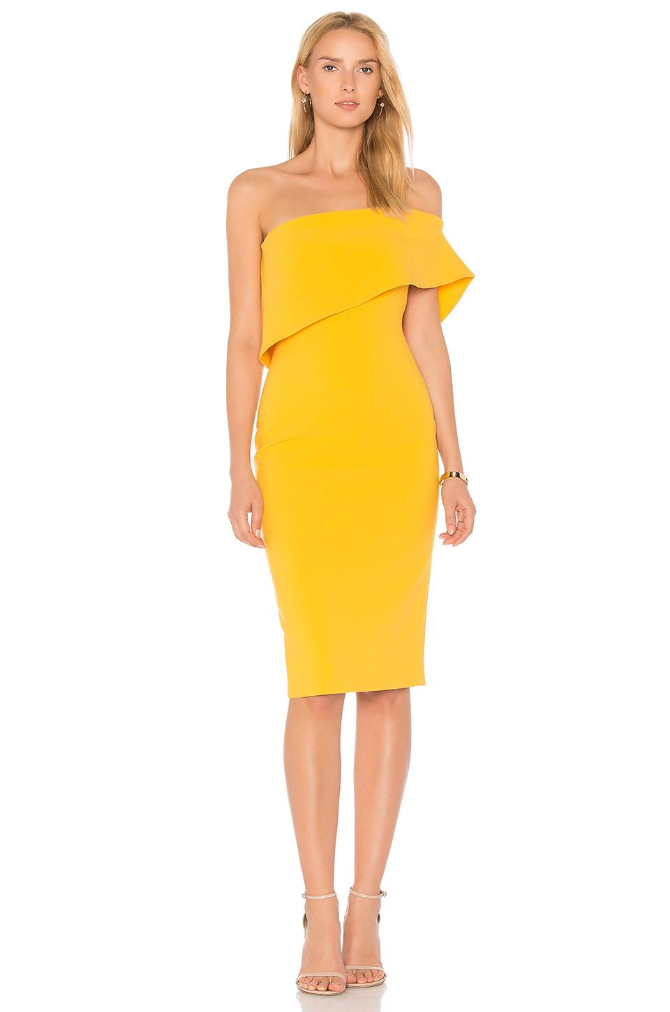 Likely Driggs Dress In Yellow