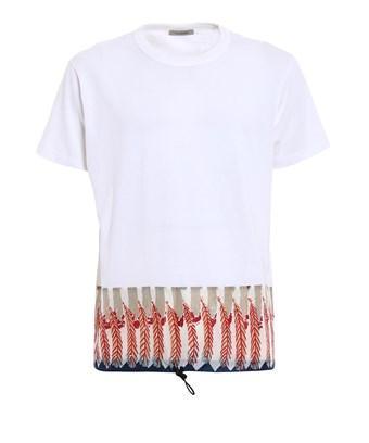 Valentino Men's  White Cotton T-shirt