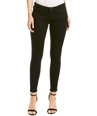 Ag Jeans The Zip-up Super Black Skinny Ankle Legging