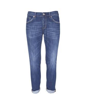 Dondup Men's  Blue Cotton Jeans